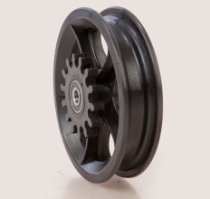 10 Inch 5 Spoke Rim with Gear